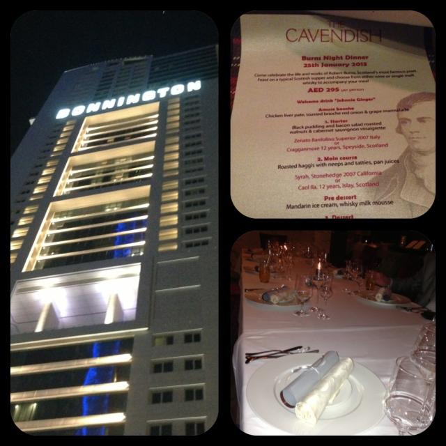 Cavendish Restaurant Bonnington JLT
