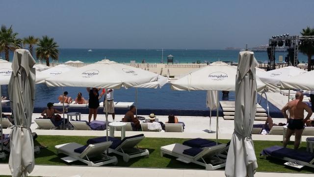 Meydan Beach, Beach Club View