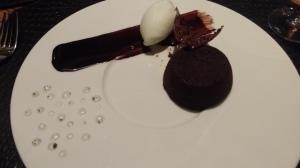 Chocolate souflee